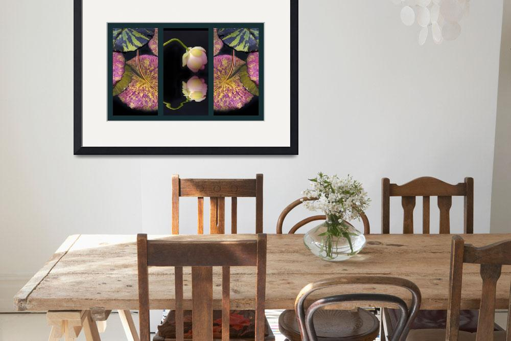 """""""Lily Pond Triptych&quot  (2016) by JessicaJenney"""