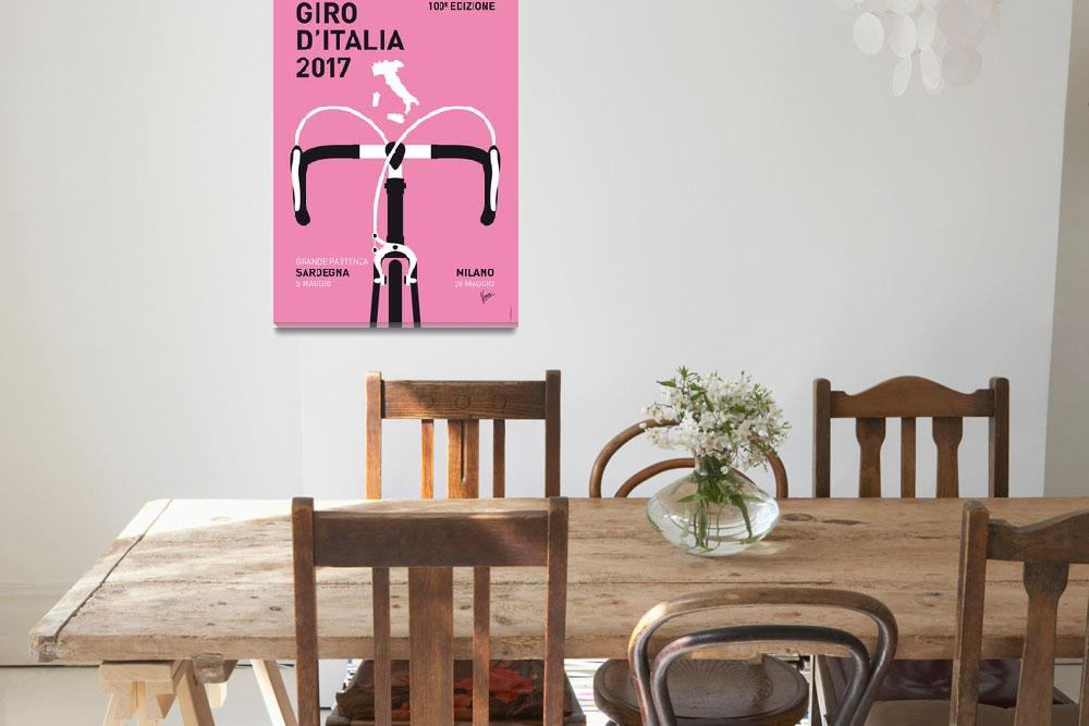 """MY GIRO DITALIA MINIMAL POSTER 2017&quot  by Chungkong"