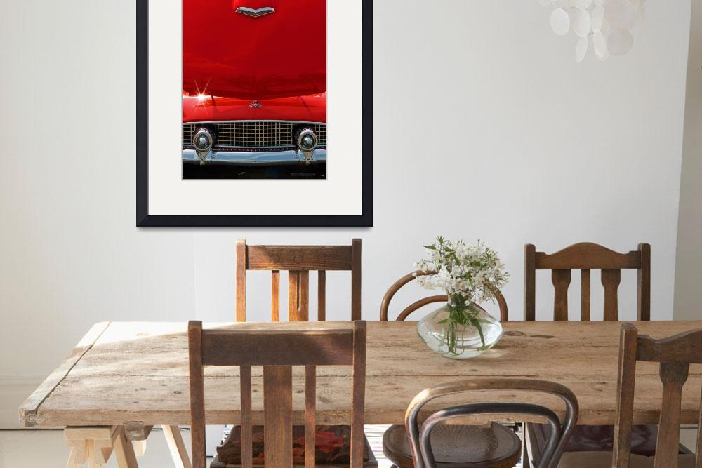 """""""Classic Car Thunderbird Abstract&quot  (2010) by garthglazier"""