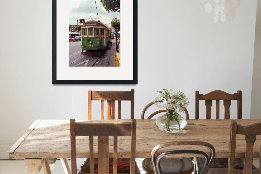 """""""San Francisco Trolley Car&quot  (2007) by Ffooter"""
