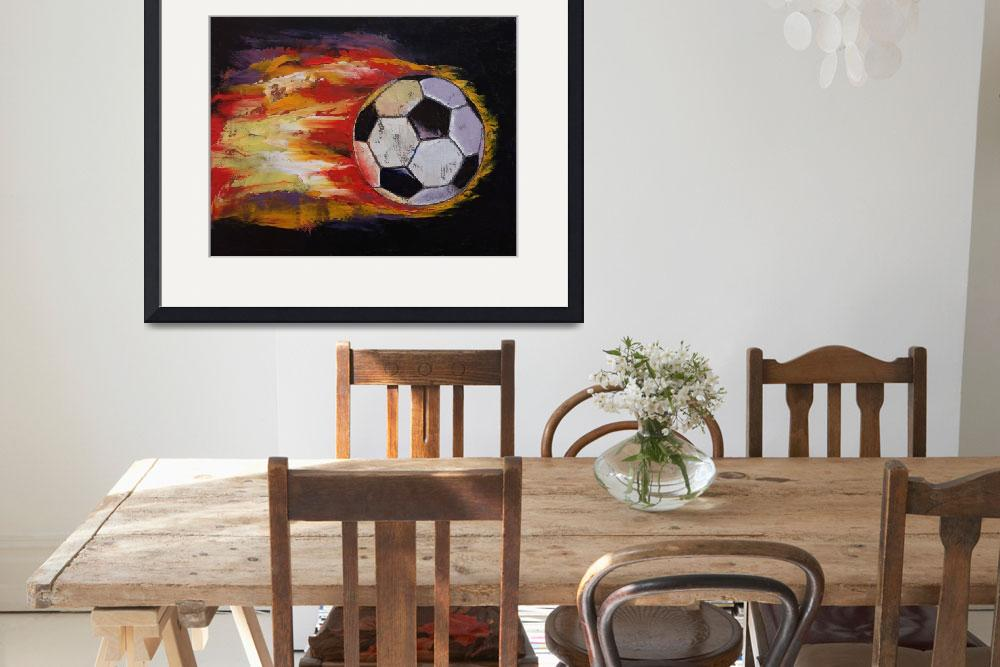 """""""Soccer&quot  by creese"""