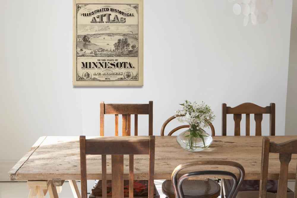 """""""An illustrated historical atlas of the State of Mi""""  by motionage"""