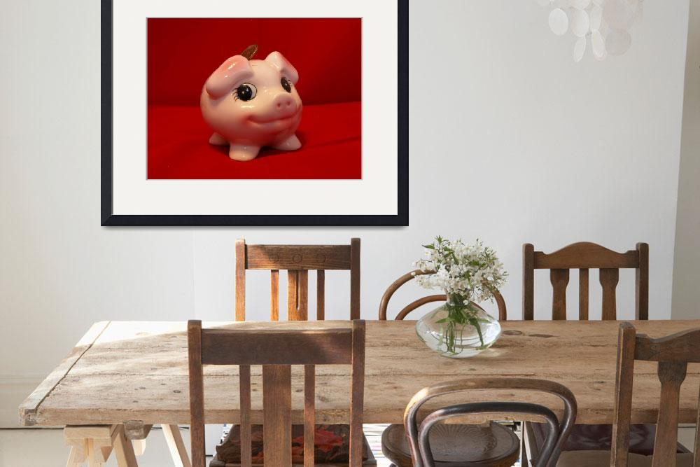 """""""Piggy bank&quot  (2009) by Albertphoto"""