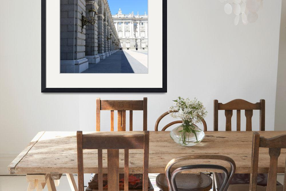 """""""Madrid Palace Perspective""""  (2014) by Groecar"""