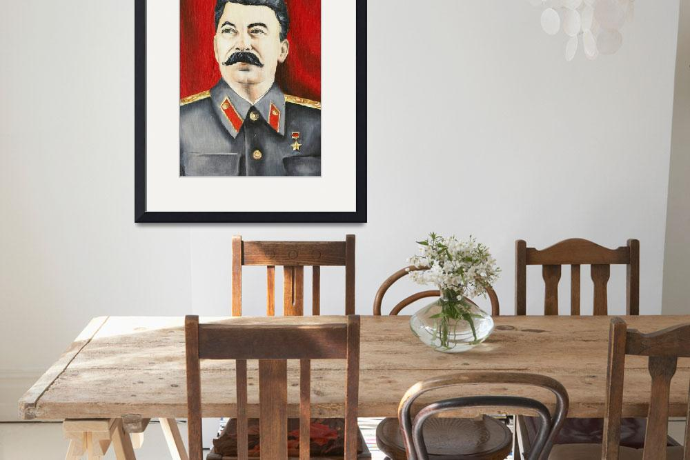 """""""Stalin""""  (2010) by lamich"""