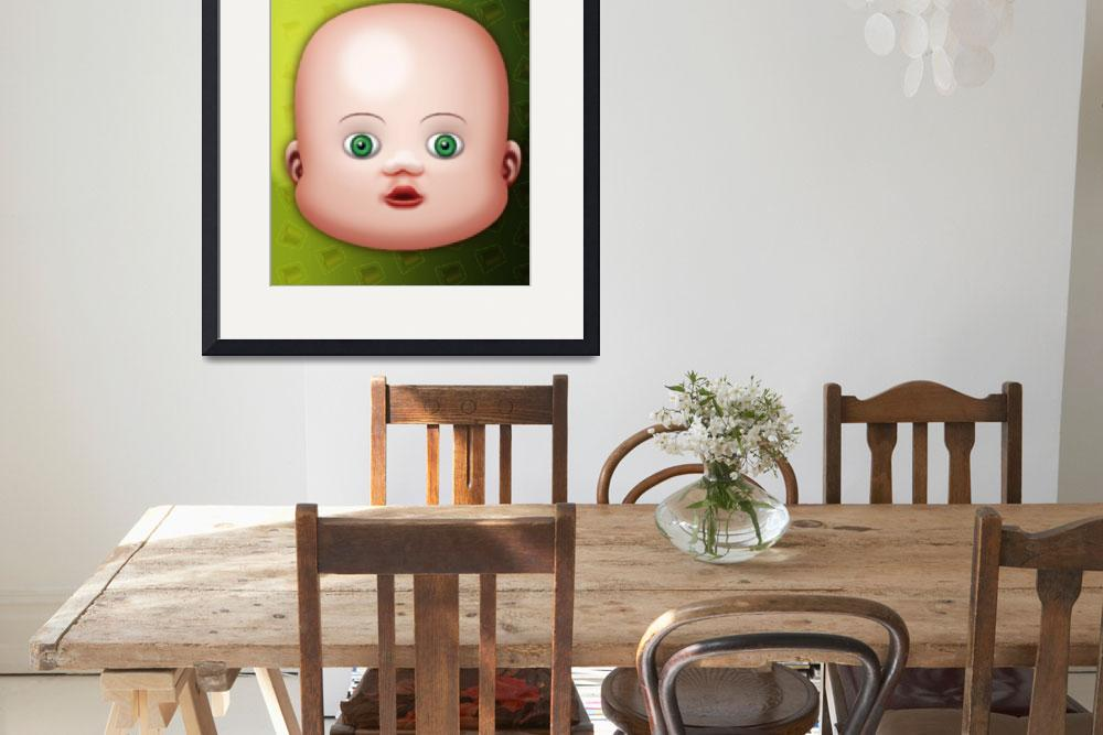 """""""Baby Small Eyes&quot  (2006) by MikeCressy"""
