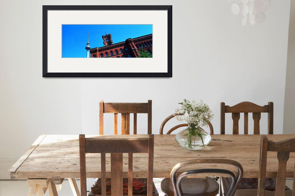 """""""City Hall Rotes Rathaus Berlin Germany&quot  by Panoramic_Images"""