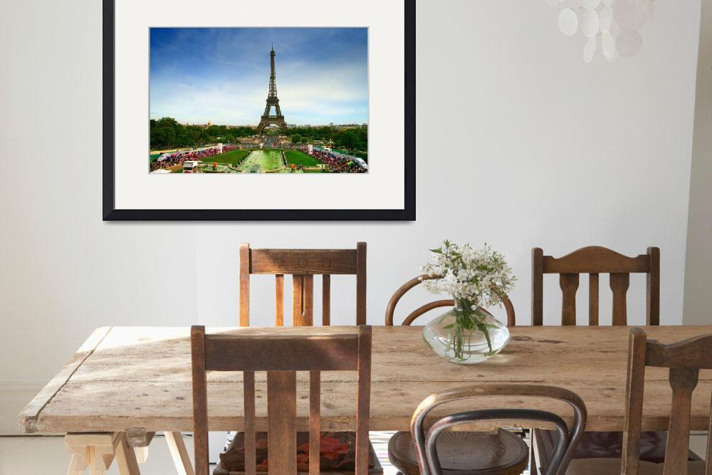 """""""Eiffel Tower&quot  by chan"""