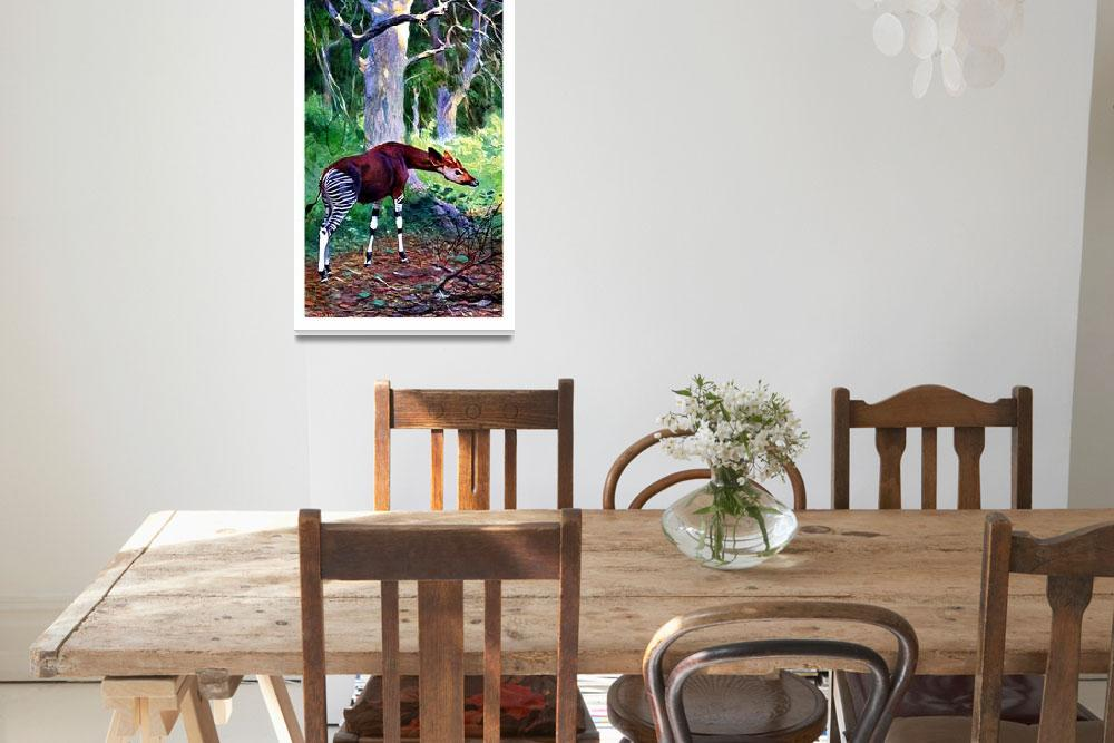 """The Okapi""  by markkumurto"