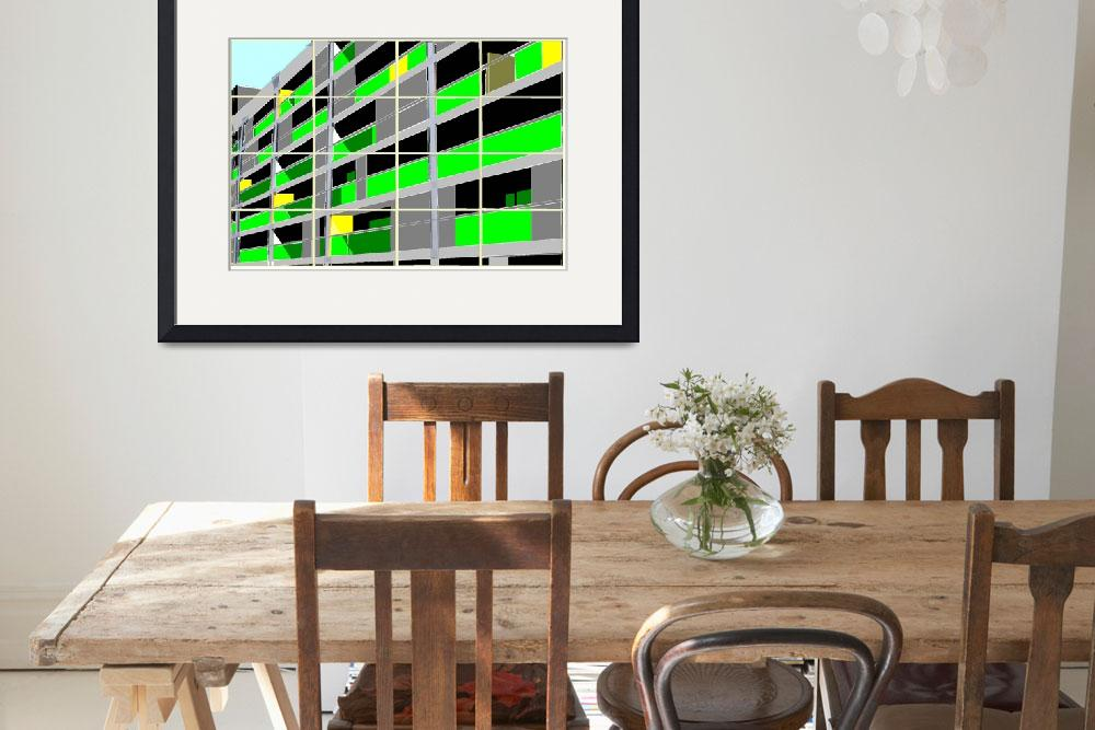 """Flats Green - one""  (2011) by RFPRICE"
