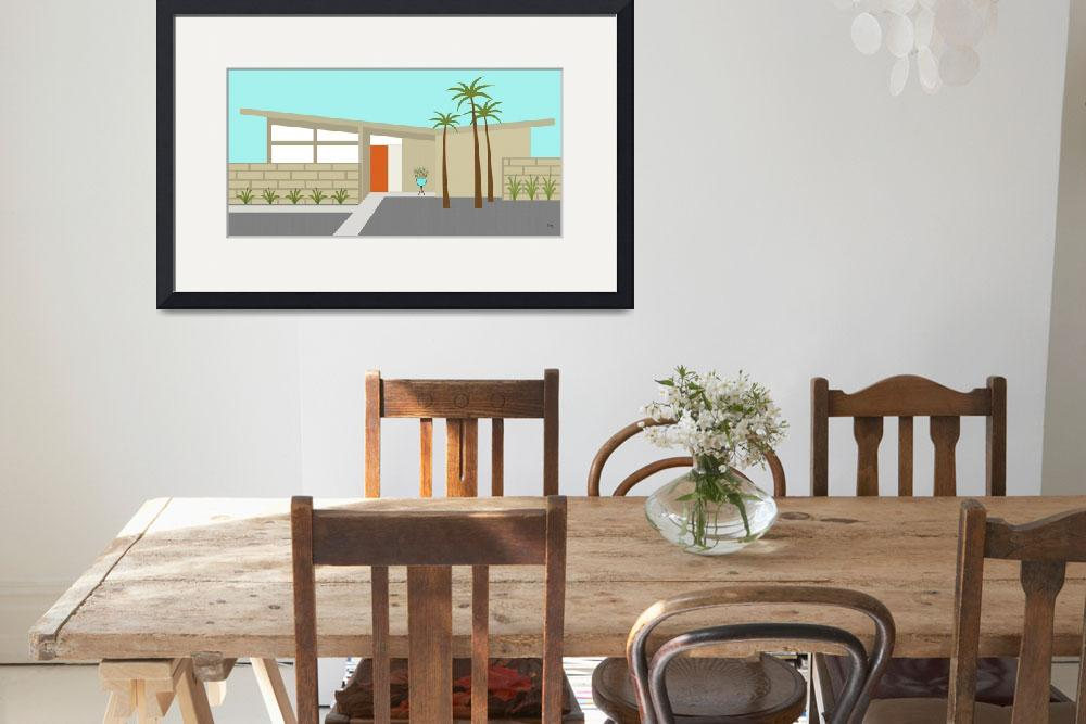 """""""Mid Century Modern House 1&quot  (2014) by DMibus"""