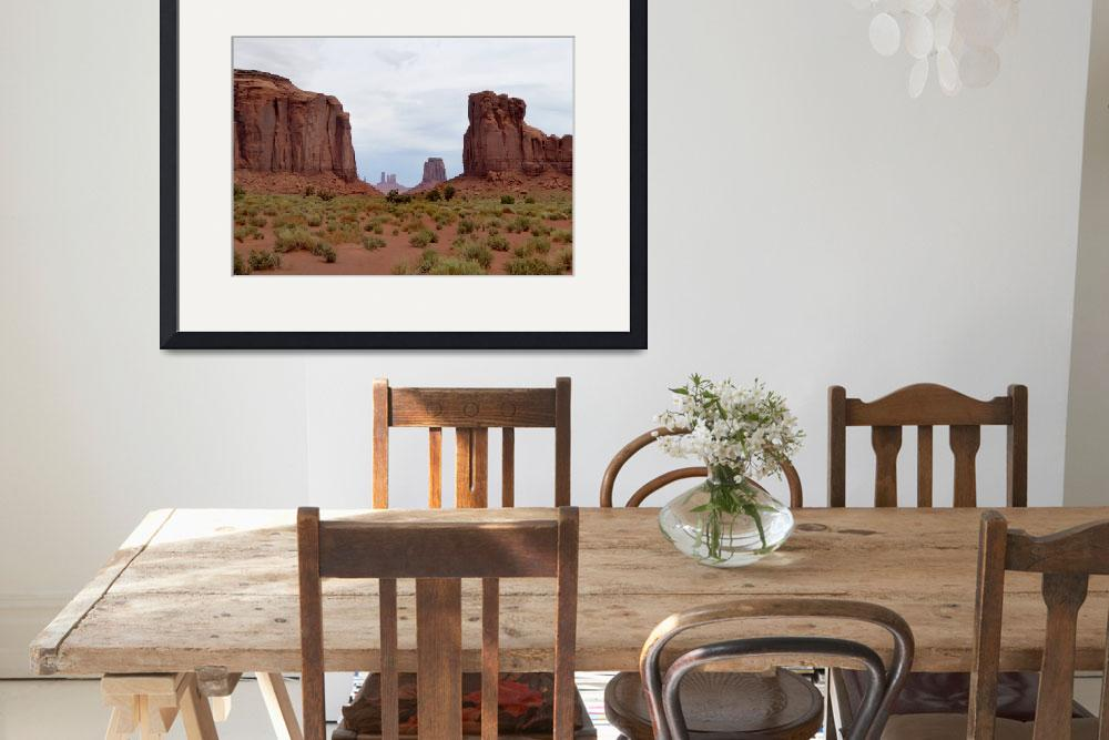 """Majestic Monument Valley&quot  by GordonBeck"