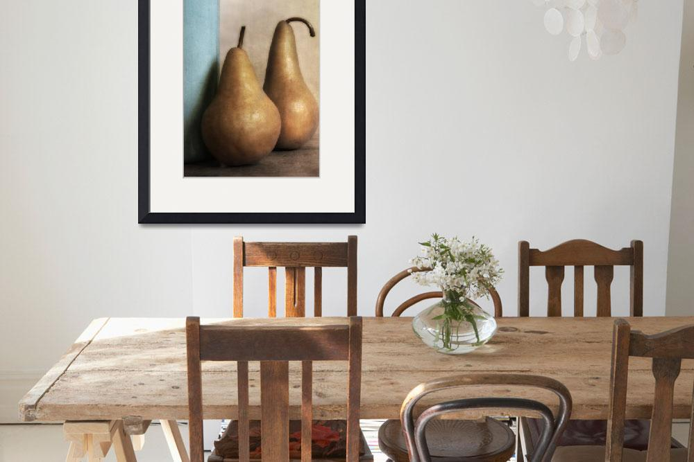 """""""Two Pears&quot  by diannepoinskiphotography"""