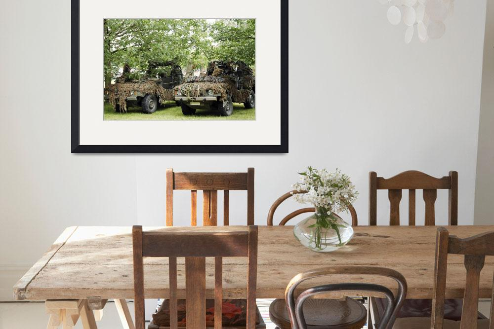 """VW Iltis Jeeps used by scout or recce teams from t&quot  by stocktrekimages"