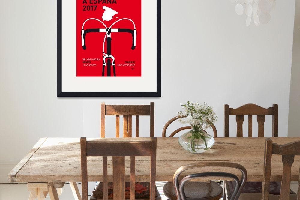 """""""MY VUELTA A ESPANA MINIMAL POSTER 2017&quot  by Chungkong"""