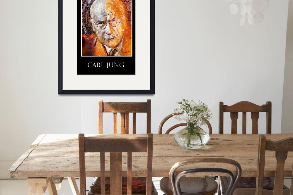 """""""Carl Jung Poster&quot  (2013) by jerrybacik"""