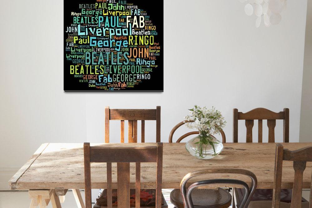 """""""Beatles&quot  (2015) by AllenBeilschmidtsr"""