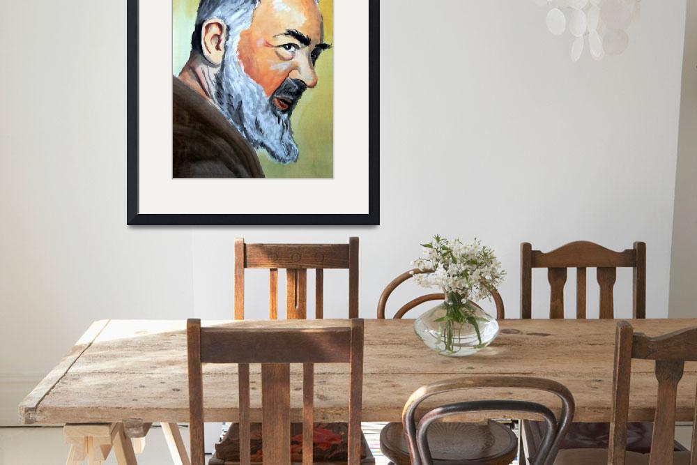 """""""Padre Pio&quot  (2010) by GRHumphries"""
