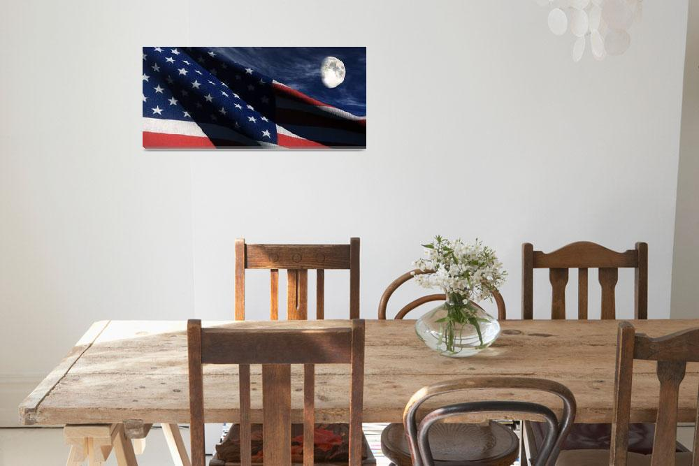 """""""Old Glory&quot  (2009) by Richard_Rizzo"""