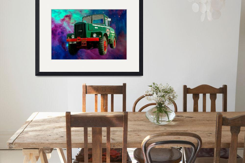 """""""Heavy Haulage Lorry&quot  (2010) by loversdream"""