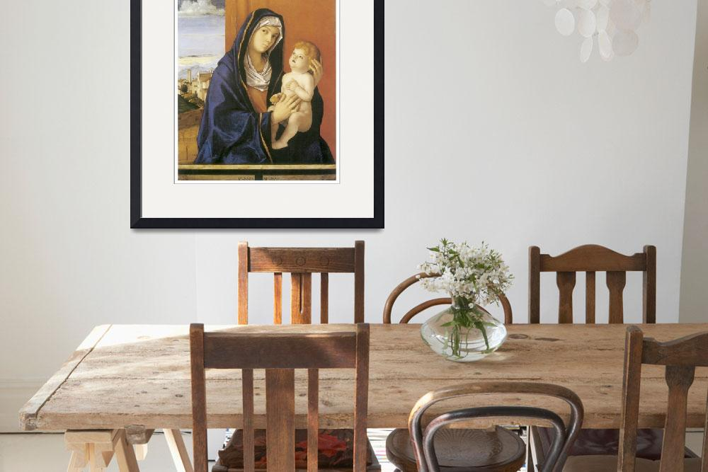 """""""Madonna and Child by Giovanni Bellini&quot  by ArtLoversOnline"""