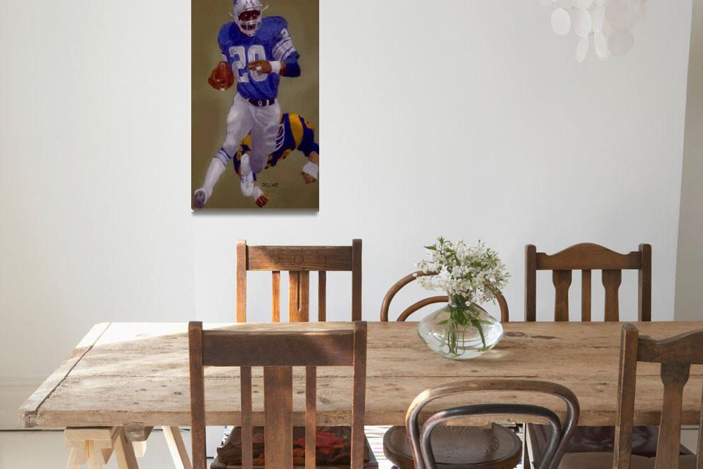 """""""billy sims&quot  (1986) by pollack"""