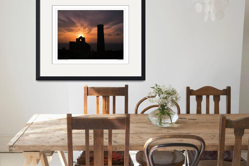 """Wheal Coates tin Mine St Agnes, Cornwall UK&quot  by SussexImages"