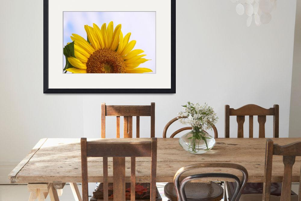 """Sunflower Artistic&quot  (2010) by CarrieAnderson"
