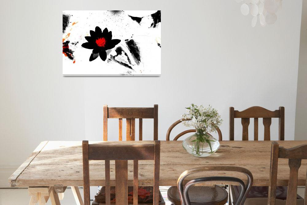 """""""Orlov Abstract Floral Composition II&quot  by Aneri"""