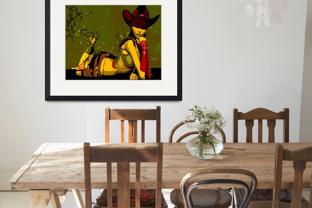 """""""Cowgirl Day Dream&quot  (2008) by SilasBlack"""
