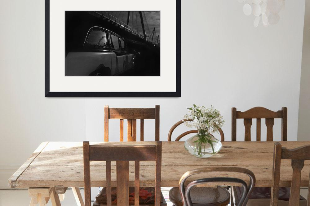 """""""Black Cab and Reflections, London&quot  by Aldo"""