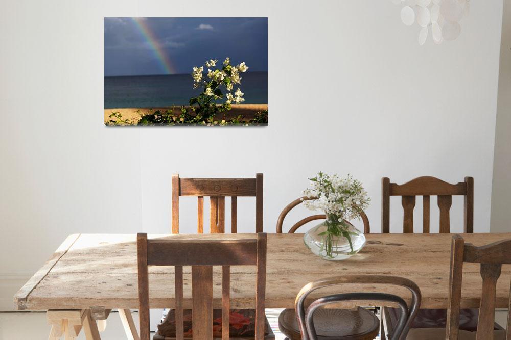 """Grenada Rainbow""  (2012) by feophotos"