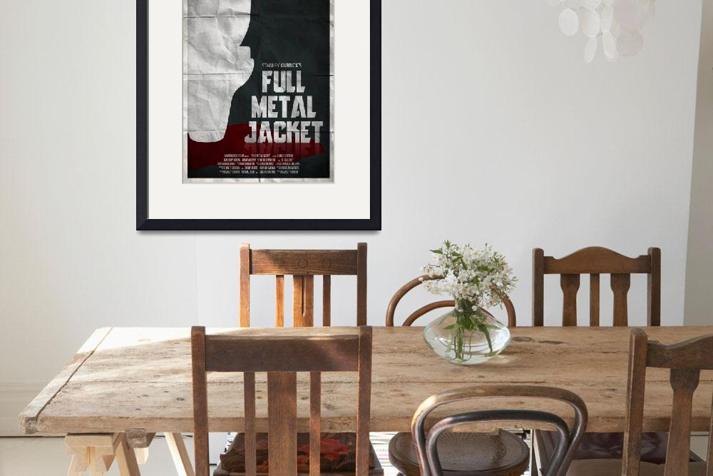 """""""Full Metal Jacket&quot  (2012) by RyanBlackDesigns"""