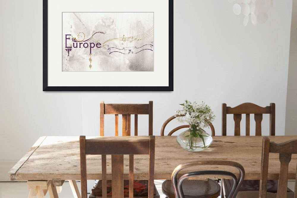"""""""Europe""""  (2010) by JohnLoughrey"""