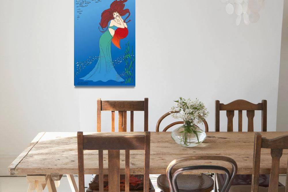 """Expectancy - Mermaid""  (2002) by LauriJon"