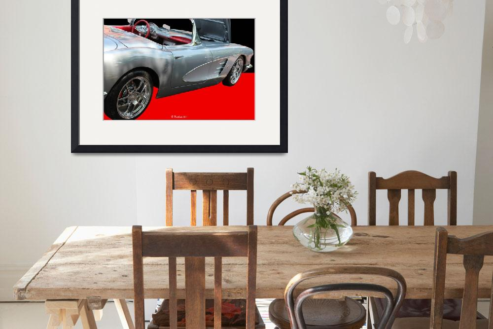 """1960 Corvette Convertible&quot  (2011) by bettynorthcutt"