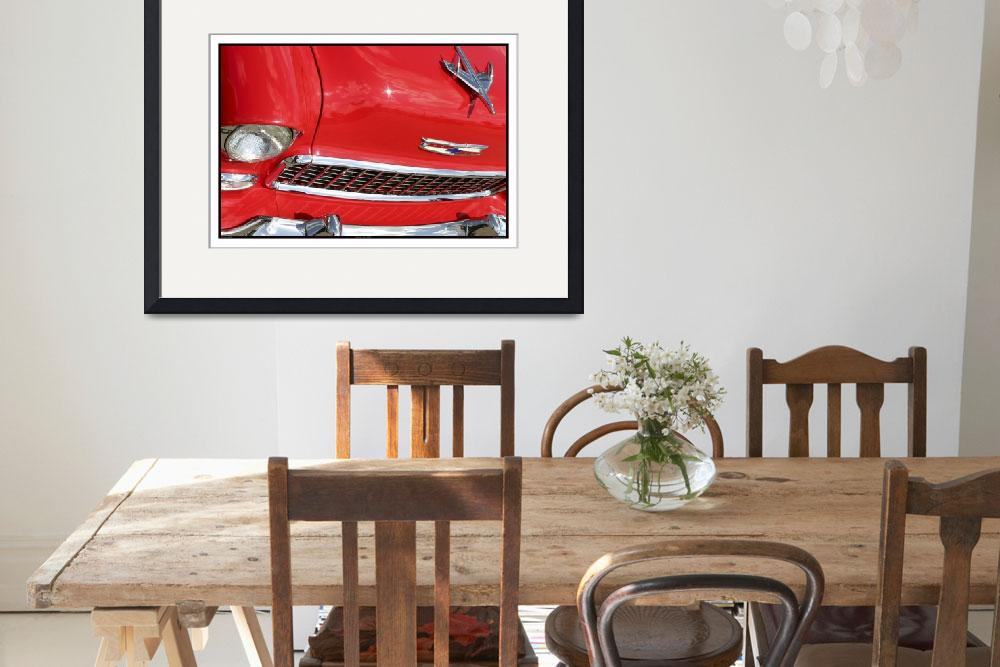 """""""Classic Car Red 07.14.07_678&quot  (2007) by paulhasara"""