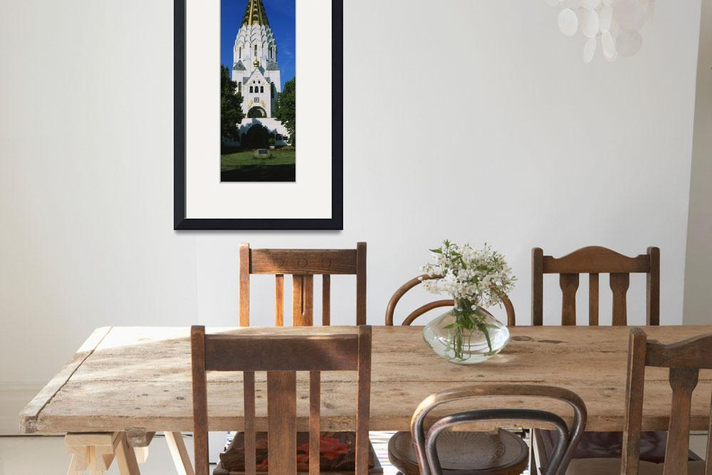 """""""St Alexei Russian Memorial Church Leipzig Germany&quot  by Panoramic_Images"""