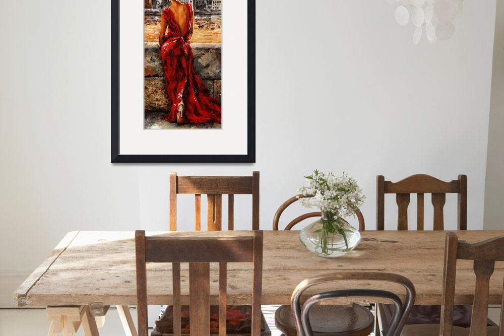 """""""Lady in Red 34 - I love Budapest&quot  (2012) by EmericoStyle"""