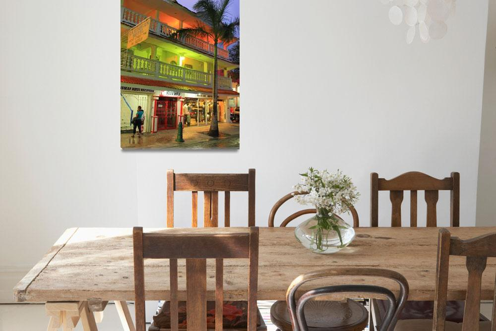 """""""Caribbean Hotel&quot  (2013) by RoupenBaker"""