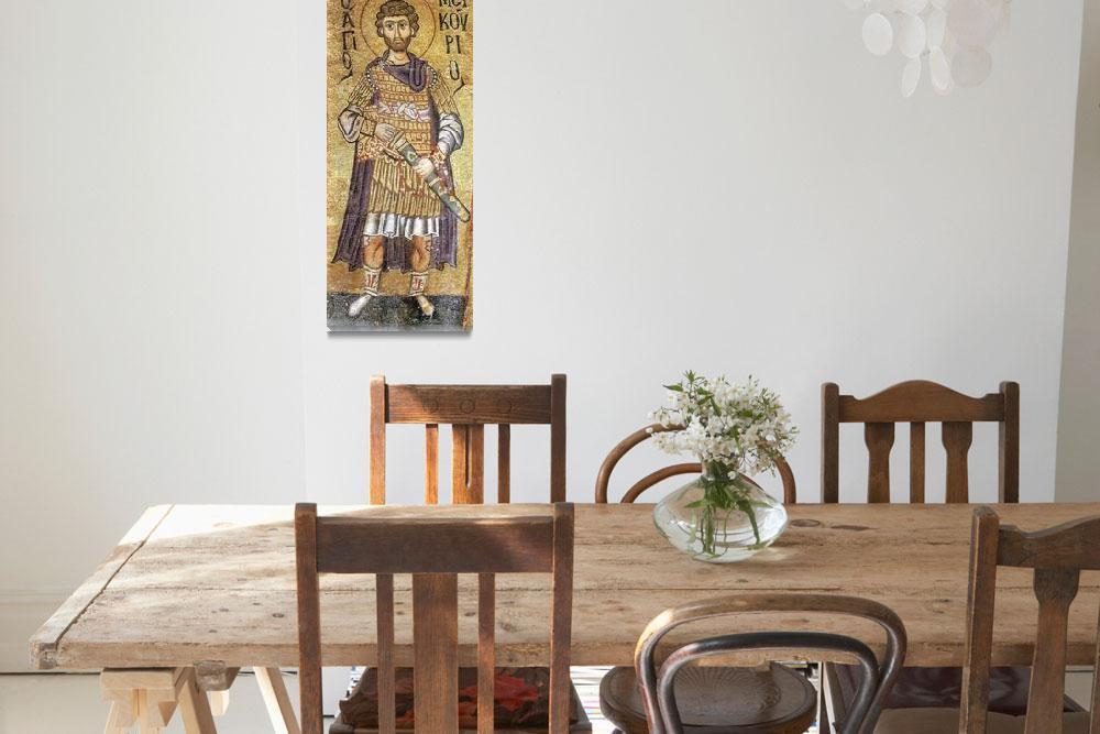 """""""Byzantine Art Framed Print""""  by buddakats1"""