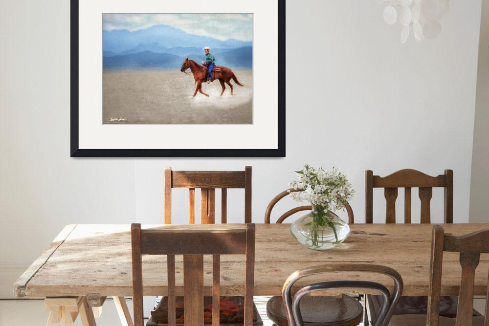 """""""Riding in the Desert&quot  (2009) by ChristopherInMexico"""