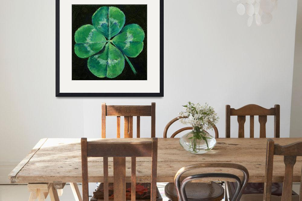 """Shamrock&quot  by creese"