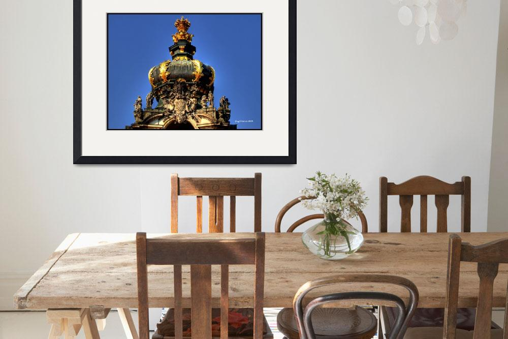 """""""Crown of Gateway, Zwinger Palace&quot  (2009) by frenchy"""