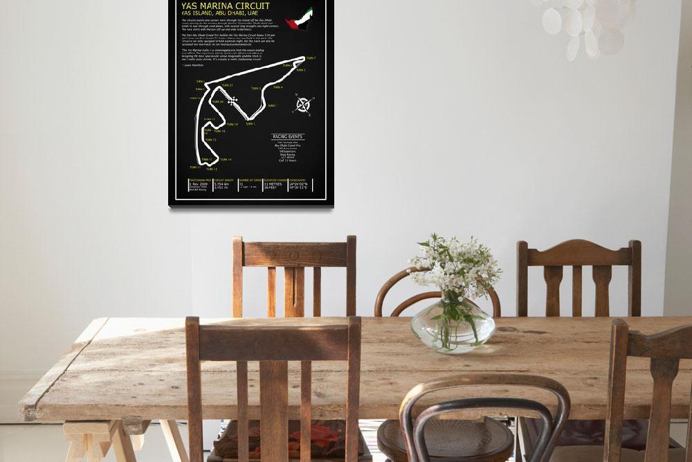 """The Yas Marina Circuit&quot  by mark-rogan"
