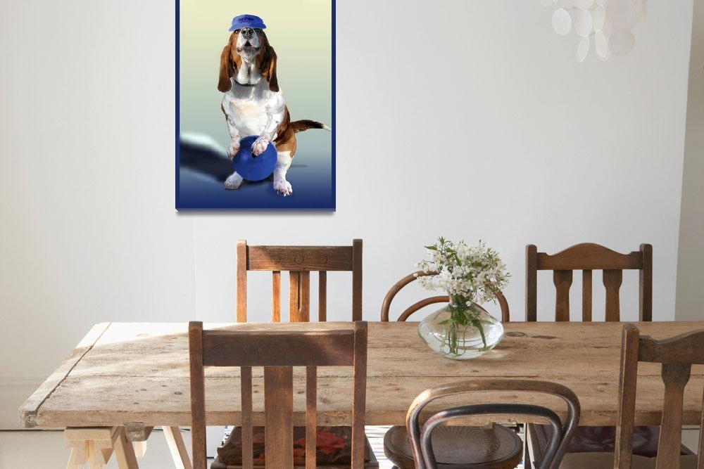 """Bowling hound""  (2010) by Unique_designs"