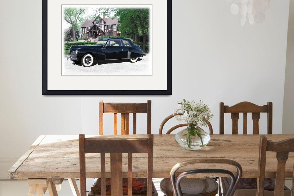 """1941 Lincoln Continental&quot  (2010) by minnron37"