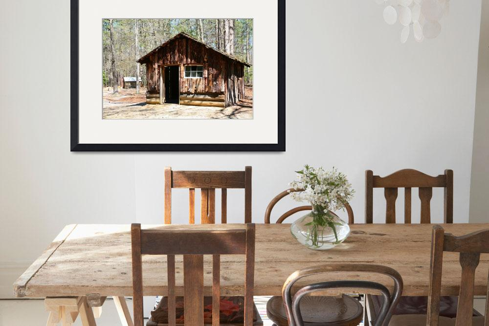 """""""Log Cabin&quot  by DonnaCorless"""