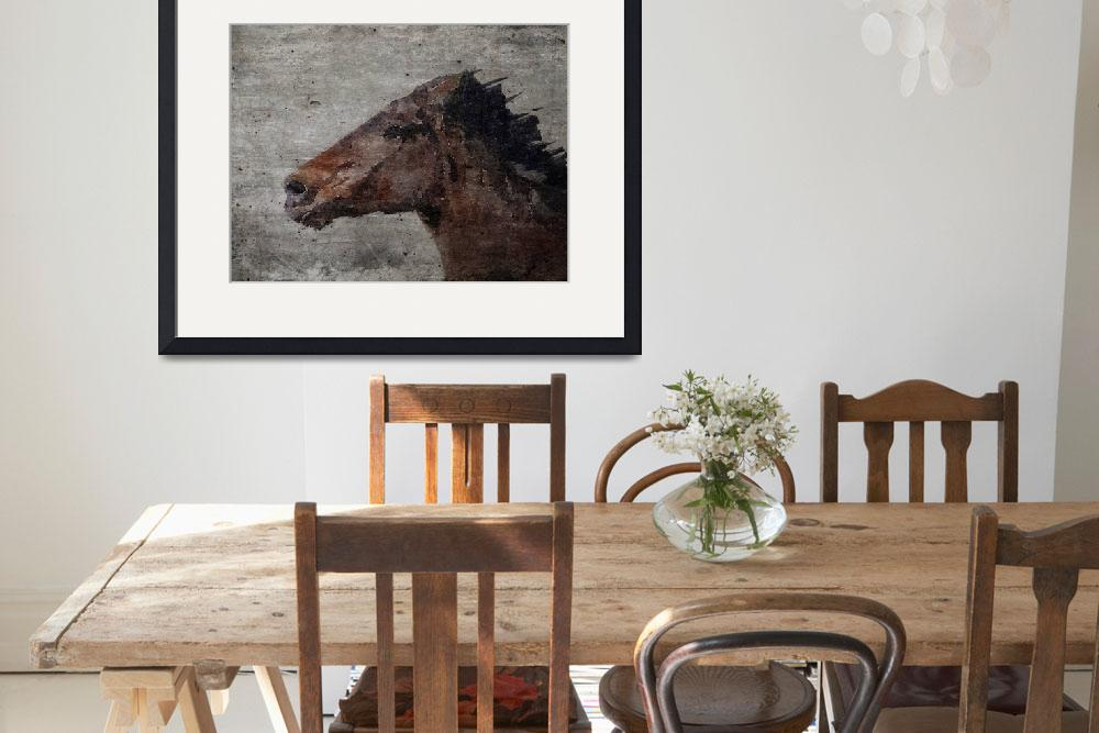 """""""Running Wild Horse&quot  by Aneri"""