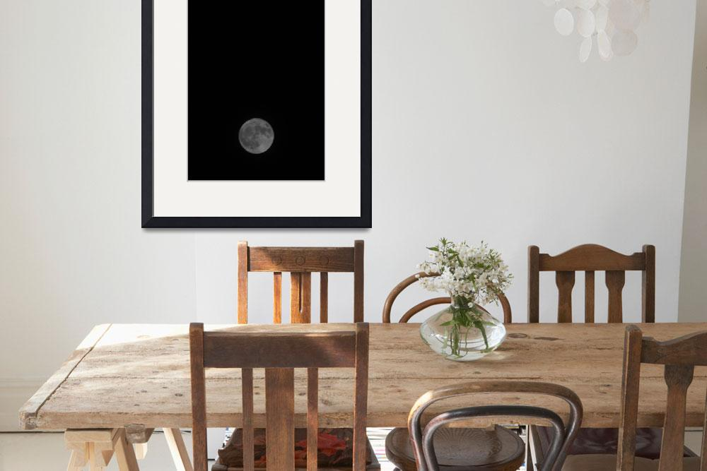 """""""Supermoon&quot  (2017) by jessereay"""